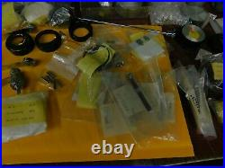 13 Nikon Lenses For Optical Comparator with Hundreds of New & Used Repair Parts