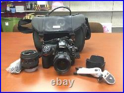 AS IS Nikon D300 Digital Camera TWO LENSES for Repair/Parts READ FREE SHIPPING