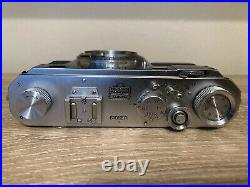 AS IS Nikon S 35mm Rangefinder Camera Body Only For Parts Or Repair