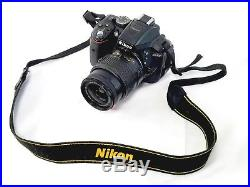 Black Nikon D5300 for Parts and Repairs. Accessories and some parts included