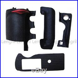 Body Front Back Bottom Rubber Cover Replacement Part For Nikon D3 D3S D3X Repair