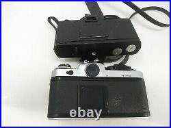 Canon AE-1 x2 Olympus OM-2S, Nikon SLR cameras for PARTS or REPAIR