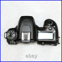 Complete Top Cover With flash and dial mode repair parts For Nikon D7500 SLR
