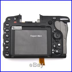 D500 Rear Cover With LCD And Key Button And Flex Cable Repair Parts For Nikon