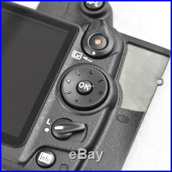 D7000 Rear Cover With LCD And Key Button Camera Repair Parts For Nikon