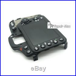 D7100 Rear Cover With LCD And Key Button Camera Repair Parts For Nikon