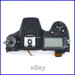 D7200 Top Cover With Top LCD And Buttons Camera Repair Parts For Nikon