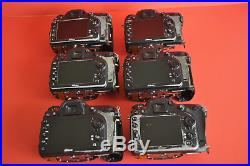 DIY SIX PACK. Nikon D7100 24.1MP Body Only REPAIR OR PARTS. READ INFO. WOW