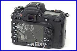 DROPPED CAMERA Nikon D7100 Camera (Body Only) PARTS OR REPAIR ONLY