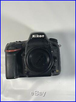 FOR PARTS OR REPAIR NIKON D610 24.3MP DSLR BODY ONLY, BAD SHUTTER WithBOX
