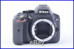 For Parts Or Repair Nikon D5300 Dslr Body Only, Mirror Locks-up As Is
