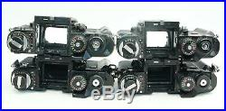 Lot Of 4 Nikon F3 35mm Slr Bodies As Is For Parts/repair Japan