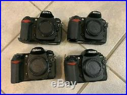 Lot of 4 Nikon D200 camera bodies for Parts/Repair AS IS (2)