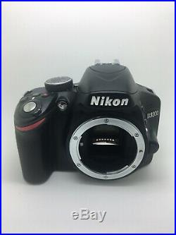 NIKON D3200 24.2MP Digital SLR Camera With AF-S 18mm-55mm. FOR PARTS Or REPAIRS