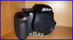 NIKON D3200 DSLR Camera Looks Great DOES NOT Turn On Sold AS IS for Repair Parts