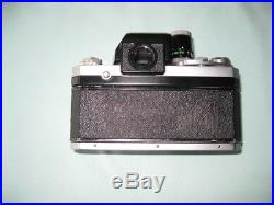 NIKON F 35mm FILM CAMERA WithVIEWFINDER BODY ONLY FOR PARTS OR REPAIR