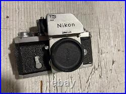NIKON F BODY FOR PARTS OR REPAIR Untested