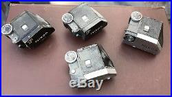 NIKON F photomic Ftn prism heads And Screen B Parts Or Repair