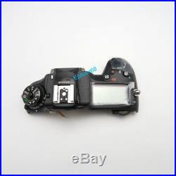 New Top Cover Head Cover Repair Part For Nikon D7200 SLR Without Top Flash Board