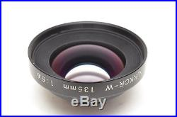 Nikkor-W 135mm f/5.6 front cell Nikon 135 mm f5.6 4x5 repair parts spare group