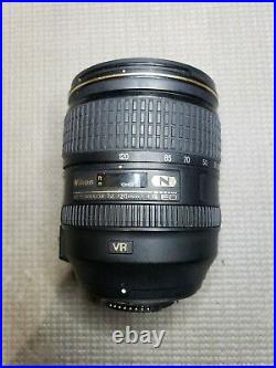 Nikon 24-120mm f/4 G AS IS-FOR PARTS or REPAIR