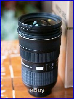 Nikon 24-70mm f/2.8 ZOOM DAMAGEDRest of lens is PERFECT PARTS or REPAIR