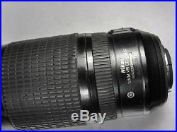 Nikon 70-300mm VR AS IS-PARTS OR REPAIR ONLY