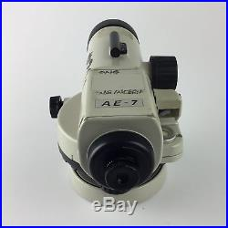 Nikon AE-7 30x Magnification Automatic Level for Parts or Repair