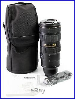Nikon AF-S NIKKOR 70-200mm f/2.8G ED VR II For Parts or Repair Only NO RESERVE