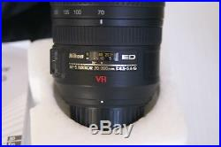 Nikon AF-S VR Zoom-Nikkor 70-300mm f/4.5-5.6G IF-ED lens PARTS OR REPAIR