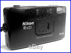 Nikon AF600 Panorama 35mm Camera AF 600 AS-IS for Parts or Repair Only