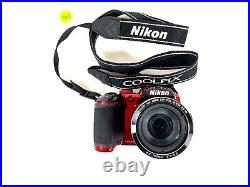 Nikon COOLPIX B500 16.0MP Digital Camera Red AS IS Sold for parts or repair