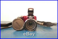 Nikon COOLPIX B500 Camera 16.0 MP Camera Plum- FOR PARTS Or Repair Photography