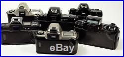 Nikon/Canon/Minolta/Pentax AF 35mm SLR FILM Camera Lot FOR PARTS OR REPAIR ONLY