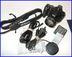 Nikon Coolpix P520 With Accessories This Camera Is For Parts Or Repair