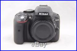 Nikon D D5300 24.2MP DSLR Camera Body Only. AS-IS, For Repair or Parts