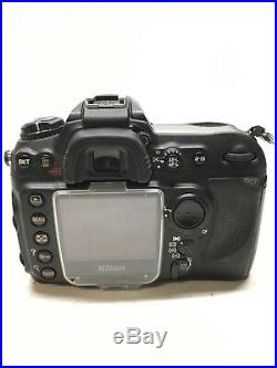 Nikon D200 DSLR Camera Body Only Untested Used for Repair/Parts Replacement