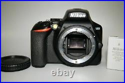 Nikon D3500 Camera Body With Memory Card Error As Is For Parts or Repair