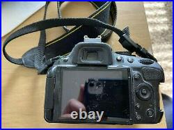 Nikon D5100 DSLR Not Working No Battery- For Parts Or Repair