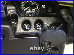 Nikon D5300 11.5k Camera Body ONLY, AUTOFOCUS NOT WORKING, For Repair Or Parts