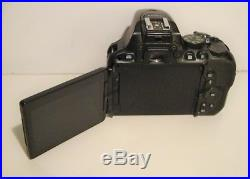 Nikon D5500 Digital SLR Camera-Black (Body Only)-FOR PARTS & REPAIR ONLY