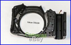Nikon D5500 repair parts front cover with rubber (used 95%)