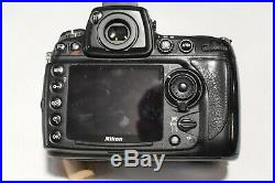 Nikon D700 SLR Digital Camera (Body Only) Parts or Repair Only-Not Working