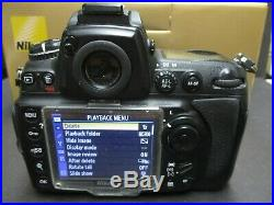 Nikon D700 camera body only for parts or repair clean camera