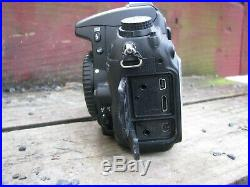 Nikon D7000 16.2MP DSLR Camera Body Only Black (FOR PARTS OR REPAIR)