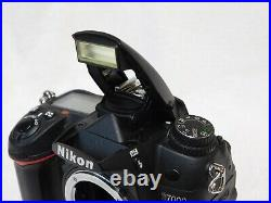 Nikon D7000 Body. For Parts Salvage or Repair. USA Seller! Will Not Auto Focus