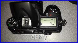 Nikon D7100 24.1MP Digital SLR Camera For Parts/Repair Only Great Accessories