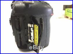 Nikon D7100 body only AS IS for parts or repair