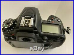 Nikon D7200 24.2 MP DSLR Camera (Body Only) 1554B / For Parts/Repair