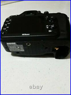 Nikon D7200 Camera Body Only Untested FOR PARTS OR REPAIR NO REFUNDS PLS READ